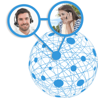 Virtual contact center voice quality
