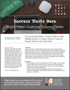 Success stories Bright Pattern