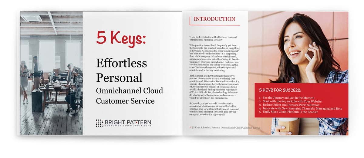 effortless and personal omnichannel customer service